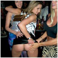 Flirt sans lendemain avec une fille exhib sexuellement sans tabou